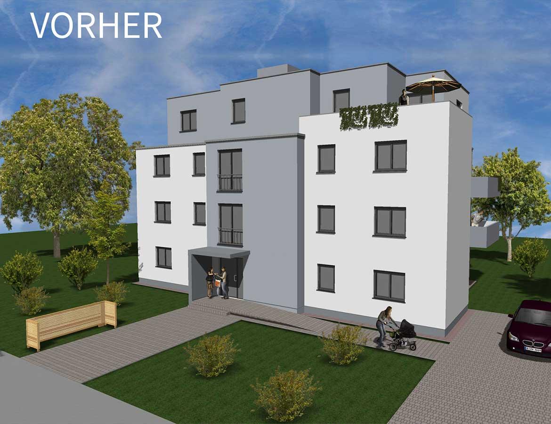 Mehrfamilienhaus Vorher-Nachher-Vergleich | vorher